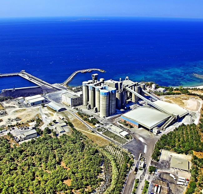 Akçansa Çanakkale Beton Fabrikası – Uçan Kamera Hava Çekimleri